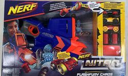 Бластер NERf Nitro Flashfury Chaos, код 42237