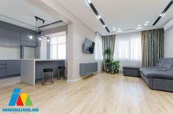 Apartament cu 2camere + living, sect.Rîșcani,  Bd.Renașterii.