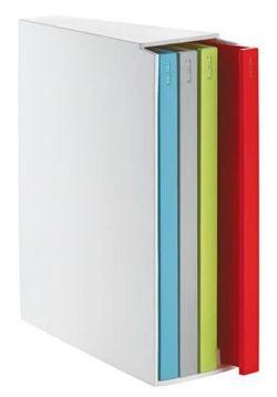cumpără Tocător de tăiere Guzzini 254393 Set de 4 cu suport (multicolor) în Chișinău