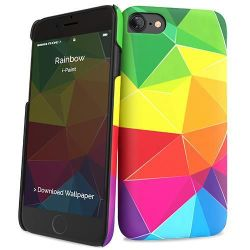 cumpără Husă pentru smartphone i-Paint Hard Case - iPX Rainbow în Chișinău