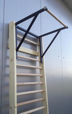Bara tractiuni atasabila la spalier gimnastic 58х86х70 cm (max. 125 kg) (3670)