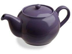 Чайник заварочный 0.47l керамический лиловый