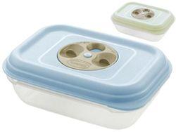 Емкость пищевая с отверстием Fresh Wave 0.95l, 19Х14Х6.3cm