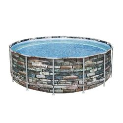 Pool Power Steel 427x122cm, 15232L, cadru metalic
