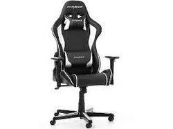 Игровое кресло DXRacer Formula GC-F08-NW, черный / белый,