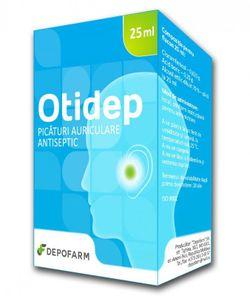 OTIDEP picături auriculare, antiseptic