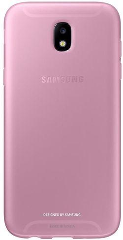 cumpără Husă telefon Samsung EF-AJ530, Galaxy J5 2017, Jelly Cover, Pink în Chișinău