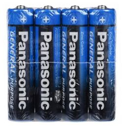 Батарейка Panasonic R03BER4PR
