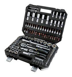 Набор бит/головок 1/4,1/2″, 4-32mm, Cr-V.108шт.Topmaster Proffesional