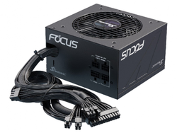 Power Supply ATX 750W Seasonic Focus GM-750 80+ Gold, 120mm fan, Semi-modular, S2FC