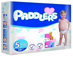 Подгузники Paddlers Standart №5 Junior 11-25kg 28