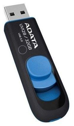 USB Flash Drive Adata UV128 128Gb Black-Blue