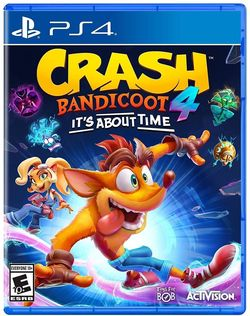 cumpără Game PlayStation Crash Bandicoot 4: Its About Time (PS4) în Chișinău