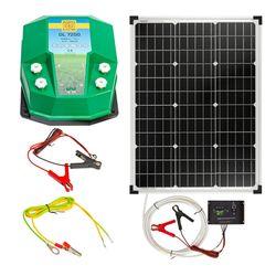 Aparat gard electric DL 7200, 7,2 Joule, cu sistem solar 50 W