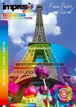 cumpără Hârtie foto Impreso IMP-MA4130050 Matte A4, 130g, 50pcs în Chișinău