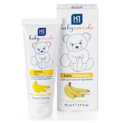 Pasta de dinti Baby Coccole cu gust de banana (12+ luni) 75 ml