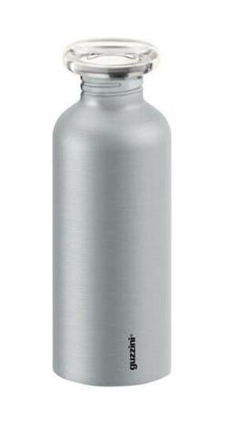 купить Бутылочка для воды GUZZINI 310266 из нержавеющей стали 650 мл серая в Кишинёве