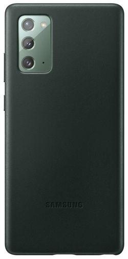 cumpără Husă pentru smartphone Samsung EF-VN980 Leather Cover Green în Chișinău