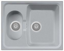 купить Мойка кухонная Plados HR6151 ROXANA Ultrametal в Кишинёве