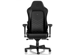 Gaming Chair Noble Hero NBL-HRO-RL-BLA Black Leather