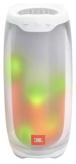 купить Колонка портативная Bluetooth JBL Pulse 4 White в Кишинёве