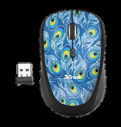 Wireless Mouse Trust Yvi, Peacock