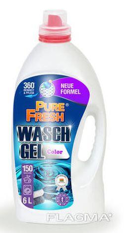 Жидкий порошок Pure Fresh Color 6l