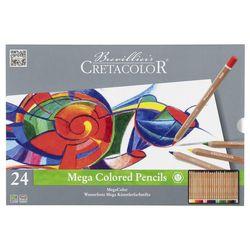 Набор цветных карандашей 24 шт. Megacolor  Cretacolor