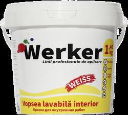 Краска водоэмульсионная интерьерная Werker 1,4 кг
