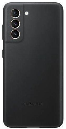 cumpără Husă pentru smartphone Samsung EF-VG996 Leather Cover Black în Chișinău