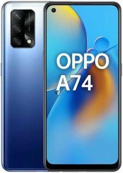 купить Смартфон OPPO A74 4/128GB (Blue) в Кишинёве