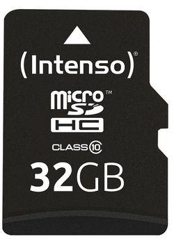 Сard de memorie Intenso MicroSD 32GB Class 10