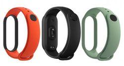 cumpără Accesoriu pentru aparat mobil Xiaomi Mi Band 5 Strap Black-Orange-Cyan în Chișinău
