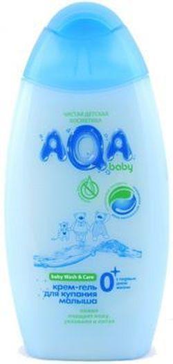 Gel-cremă pentru scăldat copilul Aqa Baby 300 ml