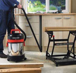 Промышленный пылесос Black&Decker WBV1405P-QS