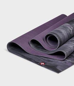 Mat pentru yoga Manduka eKO lite black amethyst marbled-4mm