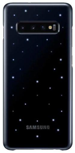 cumpără Husă telefon Samsung EF-KG975 LED Cover Galaxy S10+ Black în Chișinău