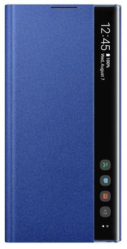 cumpără Husă pentru smartphone Samsung EF-ZN975 Clear View Cover Blue în Chișinău