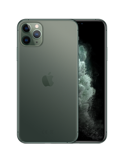 iPhone 11 Pro Max,  64Gb 	Midnight Green
