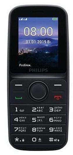 купить Телефон мобильный Philips E109 Black в Кишинёве