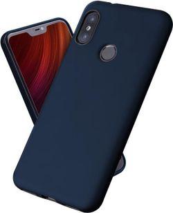 cumpără Husă pentru smartphone Screen Geeks Tpu Touch Xiaomi mi A2 Lite, blue în Chișinău