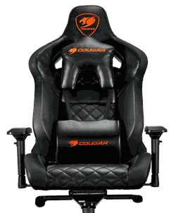 Gaming Chair Cougar ARMOR TITAN Black, User max load up to 160kg / height 160-195cm