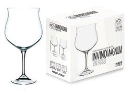 Set pahare pentru vin rosu Magnum Invino 2buc, 1.4l