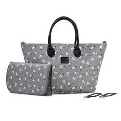Ghiozdan pentru carucior Kinderkraft Mommy Bag Grey