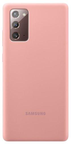 cumpără Husă pentru smartphone Samsung EF-PN980 Silicone Cover Copper Brown în Chișinău