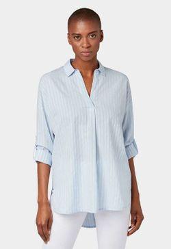 Блуза Tom Tailor Голубой tom tailor 1012569