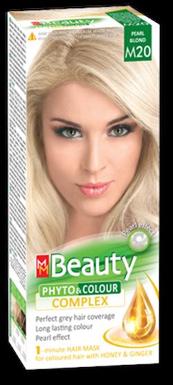 Vopsea p/u păr, SOLVEX MM Beauty, 125 ml., M20 - Blond perlat