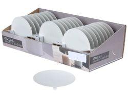 Suport-farfurie pentru luminari cu picioruse,D8.5cm, metal
