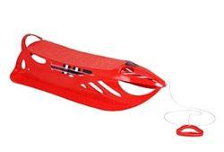 Санки пластиковые 92.5X44X22cm красные