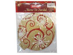 Decoratiune pentru brad 'Disc cu ornament